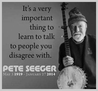 Talk to people you disagree with.